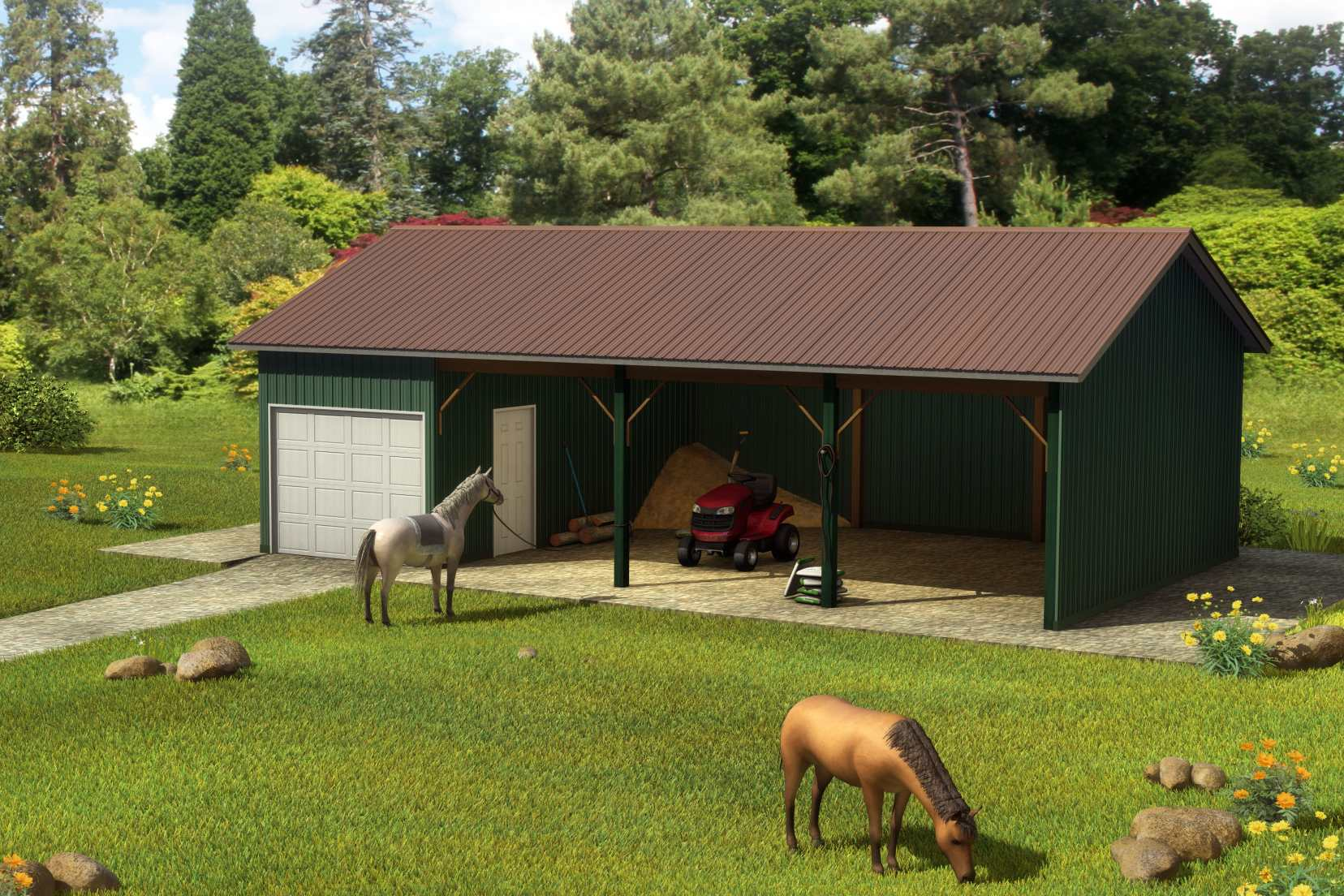 Pole Barn Packages | Curtis Lumber